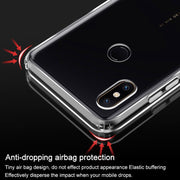 IMak Super Slim Airbag Stealth Soft Case For Xiaomi Mi MIX 2S Smartphone Mobile Clear Capa For Xiaomi Mix2s Gift Screen Protecto