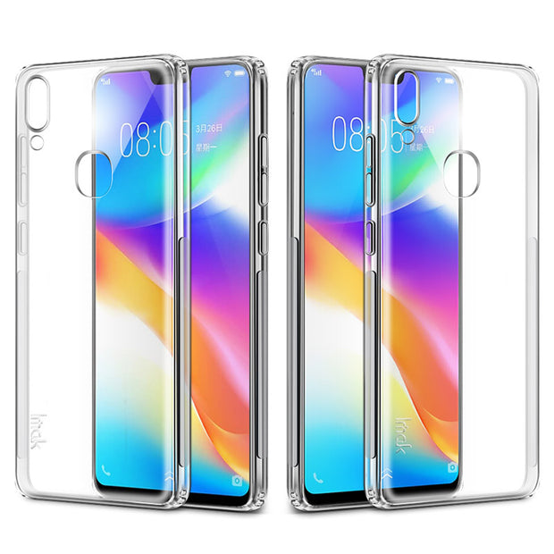 IMak Super Slim Airbag Stealth Soft Cases For Vivo Y85 Case Y85 For Case Vivo V9 Back Cover V9 Capa Free Screen Protector Film