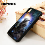 Iretmis 5 5S SE 6 6S Soft TPU Silicone Rubber Phone Case Cover For IPhone 7 8 Plus X Xs Max XR Star Wars Series Master Yoda Jedi