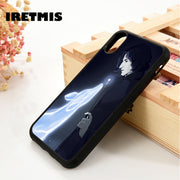 Iretmis 5 5S SE 6 6S Soft TPU Silicone Rubber Phone Case Cover For IPhone 7 8 Plus X Xs Max XR HARRY POTTER SNAPE AND DOE