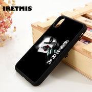 Iretmis 5 5S SE 6 6S Soft TPU Silicone Rubber Phone Case Cover For IPhone 7 8 Plus X Xs Max XR WHY SO SERIOUS_ JOKER BATMAN