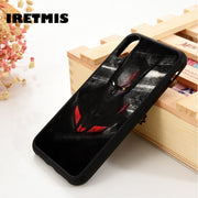 Iretmis 5 5S SE 6 6S Soft TPU Silicone Rubber Phone Case Cover For IPhone 7 8 Plus X Xs Max XR Batman Justice League DC Comics