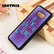 Iretmis S3 S4 S5 Silicone Phone Case For Samsung Galaxy S6 S7 S8 S9 Edge Plus Note 3 4 5 8 9 Valentine's Love Saying Quote Cute