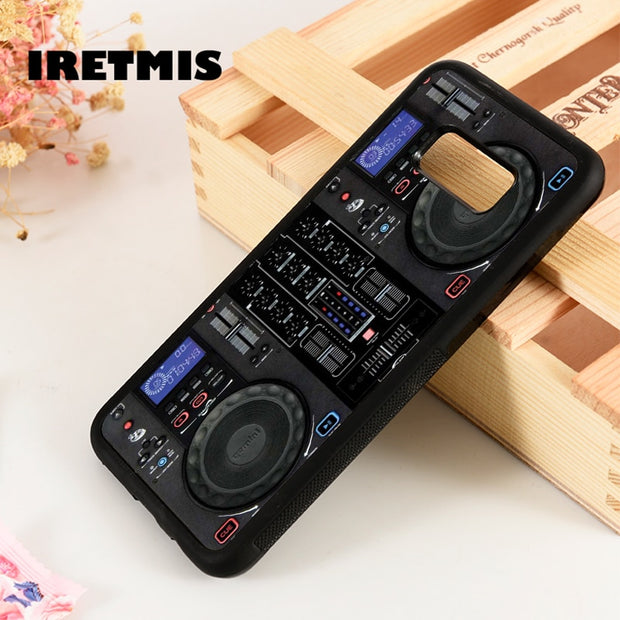 Iretmis S3 S4 S5 Phone Case Cover For Samsung Galaxy S6 S7 S8 S9 Edge Plus Note 3 4 5 8 9 Mixer CDDJ DJ Technics Turntables