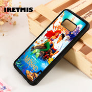 Iretmis S3 S4 S5 Phone Case Cover For Samsung Galaxy S6 S7 S8 S9 Edge Plus Note 3 4 5 8 9 The Little Mermaid Ariel & Eric