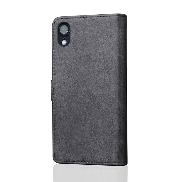 Leather Wallet Case For Apple IPhone 9 Case Luxury Flip PU Leather Phone Bags Cover Cases For IPhone 9 Plus Phone Case Coque