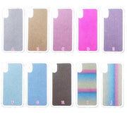Luxury Bling Glitter Sparkle Soft TPU Case For Iphone X 8 7 Plus Rainbow Silicone Gradient Sparking Shinny Gel Skin Cover 100PCS
