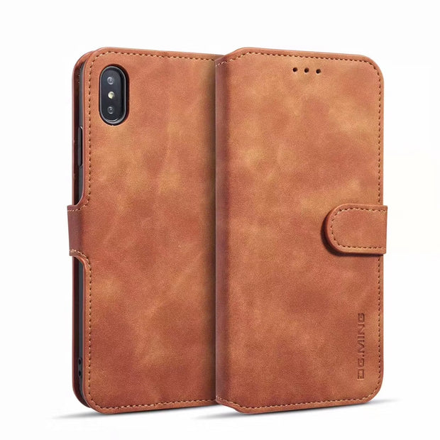 Luxury Flip PU Leather Wallet Phone Case Cover For Xiaomi 8 Lite Poco F1 Redmi 6 6A Pro Note6 Pro Card Slots Stand Coque Dropshi