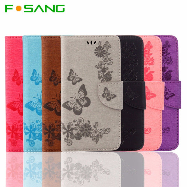 Luxury Leather Wallet Phone Cases For IPhone 6 6S Flip Cover Card Slot For IPhone 6S 6 Stand Bag
