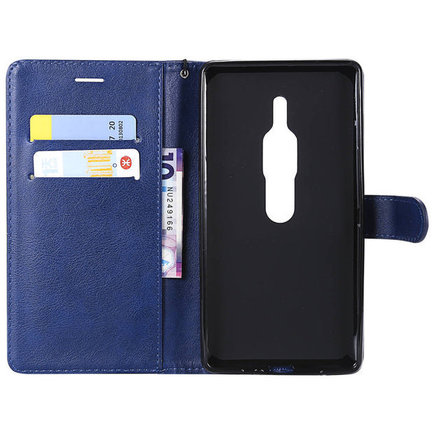 Luxury PU Leather Cover On For Sony Xperia XZ2 Premium Case Magnet Wallet Pouch Cover For SONY Xperia XZ2Premium Book Flip Cases