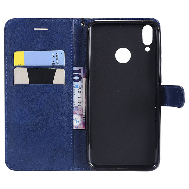 Luxury PU Leather Covers On For HUAWEI Honor 8C 2018 32GB 64GB Case Magnet Wallet Pouch Cover For HUAWEI Honor8C Book Flip Cases