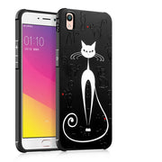 Luxury Ultra Thin Drop Resistance Armor Anti Hit Painted Soft Silicone Back Case For OPPO R9 / R9 Plus Shockproof Fundas Capa