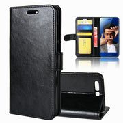 "Luxury Wallet Case Luxury Stand Leather Flip PU Cover For Huawei Honor 9 /Honor9 Premium 5.15"" L09 Retro Magnetic Bag Card Slot"