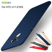 Luxury For HTC U11 EYES MOFi Thin Hard PC Case For HTC U11 Eyes Back Cover Solid Color Protective Shell Skin Phone Cases