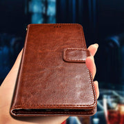 Luxury Retro Pu Leather Wallet Flip Cover Case For Capa Para Xiaomi Redmi Note 6 Pro Coque Cases For Redmi Note 6 PRO