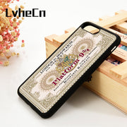 LvheCn 5 5S SE 6 6S Phone Cover Cases For IPhone 7 8 PLUS X Xs Max XR Soft Silicone Rubber Hogwarts Train Ticket Platform
