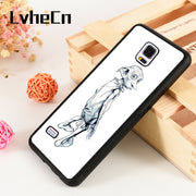 LvheCn S3 S4 S5 Phone Cover Case For Samsung Galaxy S6 S7 S8 S9 Egde Plus Note 4 5 8 9 Silicone Dobby The House Elf Harry Potter