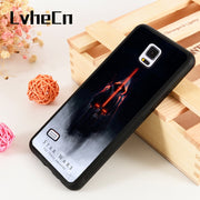 LvheCn S3 S4 S5 Phone Cover Cases For Samsung Galaxy S6 S7 S8 S9 Egde Plus Note 4 5 8 9 Star Wars Inspired The Force Awakens