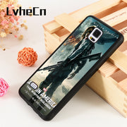 LvheCn S3 S4 S5 Phone Cover Cases For Samsung Galaxy S6 S7 S8 S9 Egde Plus Note 4 5 8 9 Captain America 2 The Winter Soldier