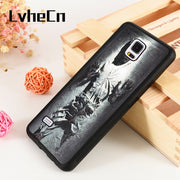 LvheCn S3 S4 S5 Phone Cover Cases For Samsung Galaxy S6 S7 S8 S9 Egde Plus Note 4 5 8 9 Star Wars Han Solo Frozen Carbonite