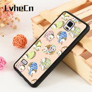LvheCn S3 S4 S5 Phone Cover Cases For Samsung Galaxy S6 S7 S8 S9 Egde Plus Note 4 5 8 9 Silicone Rubber Animal Hedgehogs Mouse