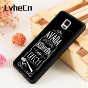 LvheCn S3 S4 S5 Phone Cover Cases For Samsung Galaxy S6 S7 S8 S9 Egde Plus Note 4 5 8 9 Silicon Harry Potter Avada Kedavra B!tch