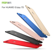 MOFI Back Case For Huawei Enjoy 7S Cover Hard Case For Huawei Enjoy 7S Cover Phone Shell Ultra Thin Protective Case