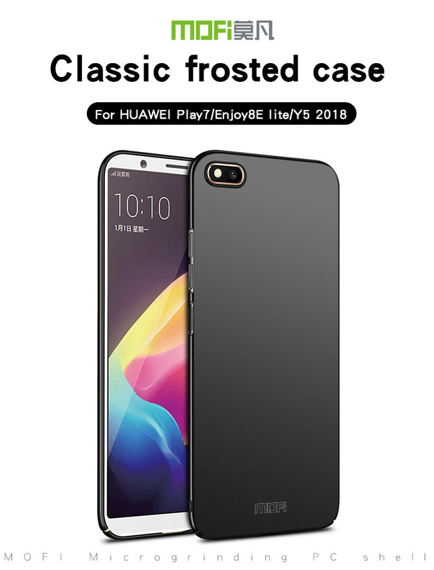 MOFI For Huawei Y5 2018 Case Fitted Cases PC Hard Case For Huawei Honor 7 Play Back Cover Ultra Thin For Huawei Enjoy 8E Lite