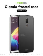 MOFI Mobie Phone Case Cover For Meizu 15 Case Fitted Cases PC Hard Case For Meizu 15 Cover Ultra Thin Back Cover