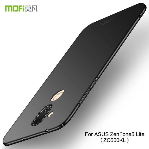 MOFi Case For ASUS ZenFone 5 Lite ZC600KL Back Cover Full Protection Hard PC Fundas Phone Cases Shell For ZenFone 5 Lite ZC600KL