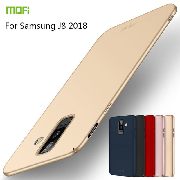 MOFi For Samsung Galaxy J8 2018 Back Cover Full Protection Hard PC Fundas Phone Cases Shell For Samsung Galaxy J8 2018 Cover