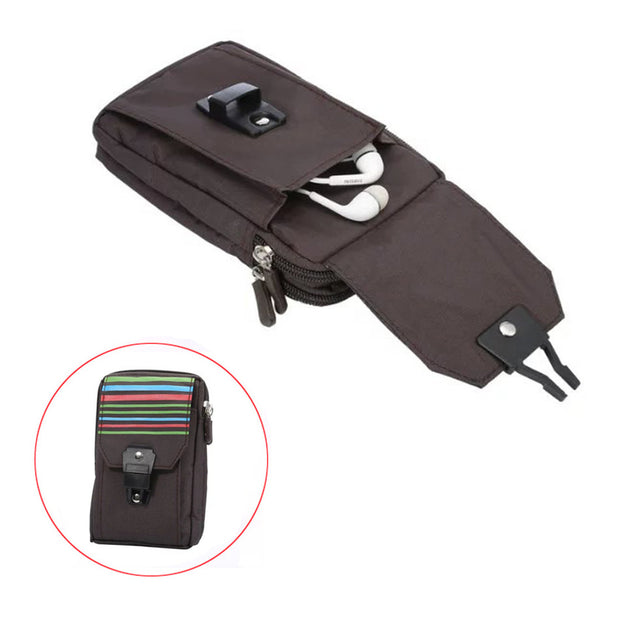 Multifunction Casual Phone Cover Waist Case For Samsung Galaxy Grand Prime A5 2015 A3 A5 J3 J7 J5 2016 Belt Pouch Sport Bag