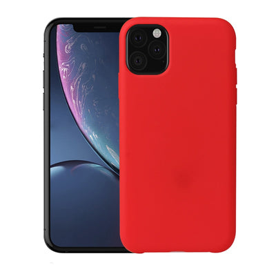 NEW Soft Gel Rubber Protection Case For Apple iPhone 11 Case 2019 5.8 inch Liquid Silicone Cover For iPhone 11 2019 6.1 6.5 Case