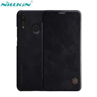 NILLKIN Retro PU Leather Case For Huawei P Smart+ Case For Huawei Nova 3i Cover Hard PC Back Cover Flip Mobile Phone Cases