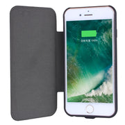 New 5000mah Back Clip Battery Solar Charger Protector Mobile Phone Cover For Iphone 7 6 6s Plus Powerbank Case