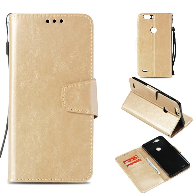 New Fashion Case For ZTE Blade Z Max Z982 Pu Leather Funda Cover Card Solts Business Phone Bag