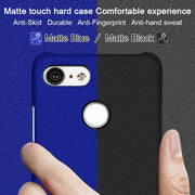 New For Google Pixel 3 XL Case Cover IMAK Matte Case For Google Pixel 3 XL PC Hard Cover Fitted Cases 6.3''