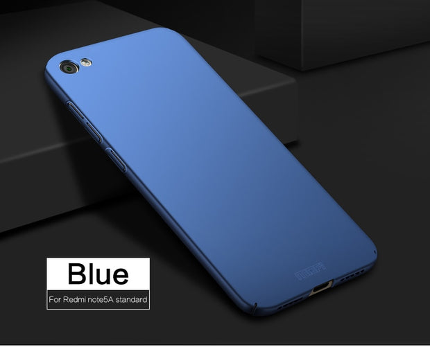 New For Xiaomi Redmi Note 5A Cover Case Original MOFI Hard Case For Xiaomi Redmi Note 5A Case Hight Quality Phone Shell