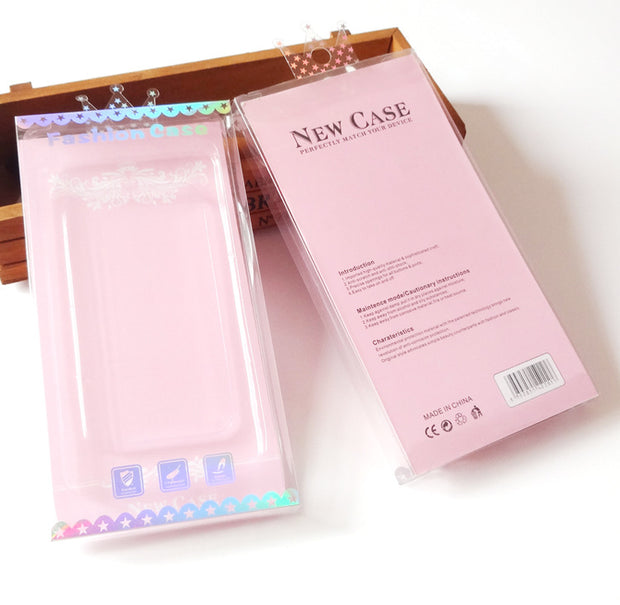 Nice Design Hot Selling Phone Case Clear Transparent PVC Plastic Retail Package Packaging Box For Iphone 6 6plus 7 7plus