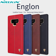 Nillkin Englon Case For Samsung Galaxy Note 9 Phone Case Vintage Leather Case For Samsung Galaxy Note9 Case With Retail Package