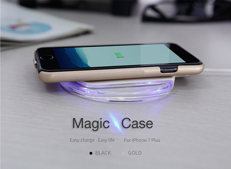 Nillkin Qi Wireless Charger Receiver Case Cover For IPhone ...