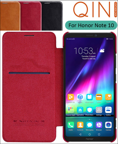 Nillkin Qin Book Flip Leather Case Cover For Huawei Honor Note 10 Note10 6.95 Inch