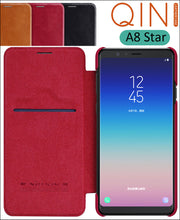 Nillkin Qin Book Flip Leather Case Cover For Samsung Galaxy A8 Star G8850