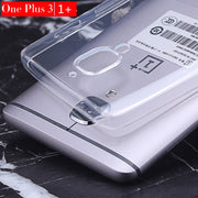 Oneplus 3 Case Silicon Cover 64gb Oneplus 3T Back Soft TPU Funda One Plus 3 Silicone A3000 Three Oneplus3 A3010 Oneplus 3t Case