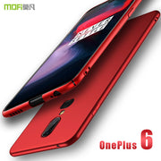 Oneplus 6 Case Cover MOFi Original 1+6 Hard PC Back Cover Oneplus6 Protective Phone Case Black Capas Fundas One Plus 6 Case 6.28