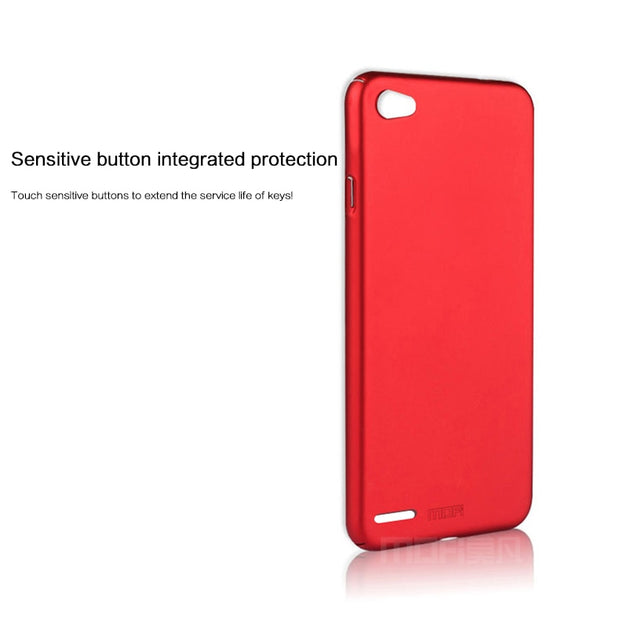 Original MOFi Brand For LG Q6 Mobie Phone Case Silicone Scrub Cover Hard PC Back Cover For LG Q6 Cases