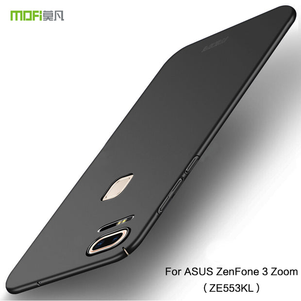 Original MOFi Brand For ASUS Zenfone 3 Zoom ZE553KL Case Silicone Scrub Cover Hard PC Back Cover For ASUS ZE553KL Cases 5.5 Inch