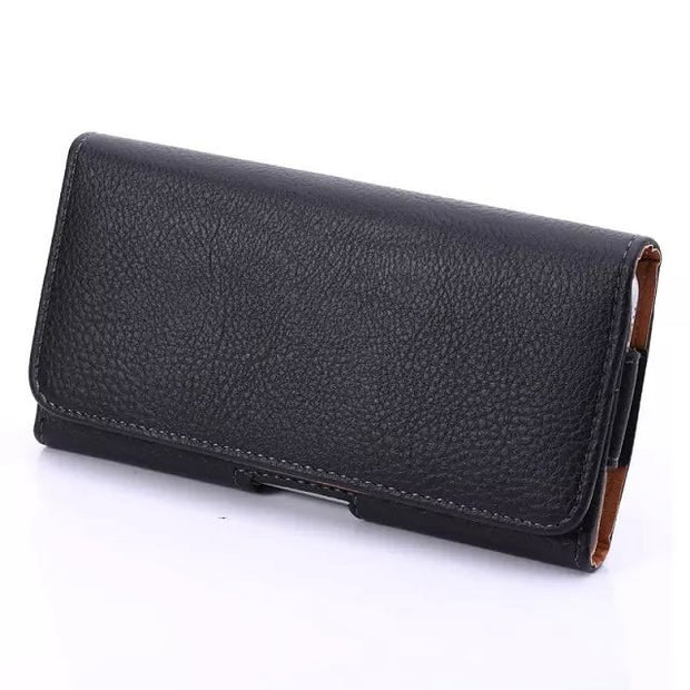 "Outdoor PU Leather Waist Belt Pouch Universal Phone Cover Case For Meizu M2 M3 M3s Mini Meilan 2 3 3s Mini 5.1"" Below Holster"