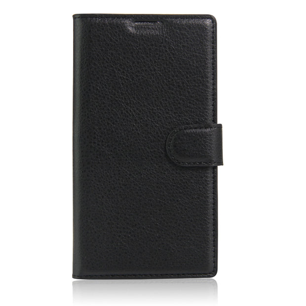 "PU Leather Wallet Cover Case For Alcatel One Touch OT7048X OT4031 OT5025 (5.5"") Pop 3(5"") 4024D 5022D"