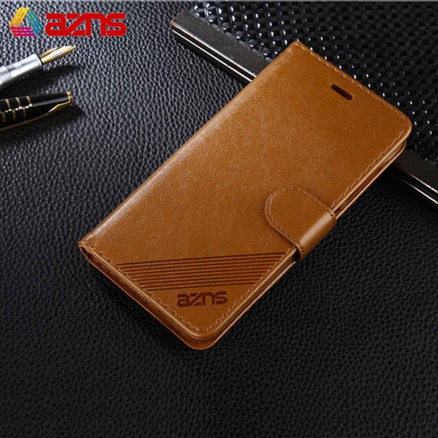 PU Leather For Xiaomi 4S 5 5C 5X 5S Plus 6 6X Wallet Case Credit Card Slot Magnetic Kickstand Flip Book Design Case Cover